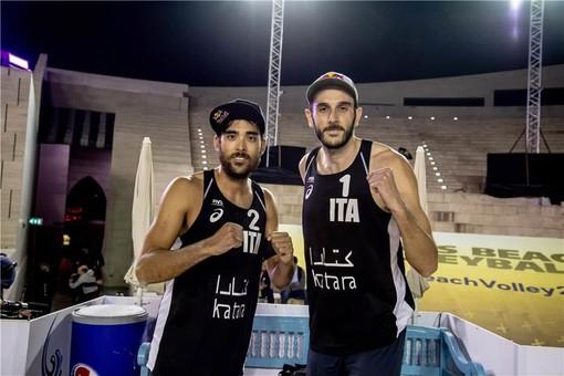 Beach Volley, World Tour Doha: quinto posto per gli azzurri allenati dall'armese Matteo Varnier