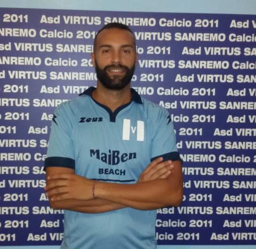 Marco Panessa, difensore della Virtus Sanremo