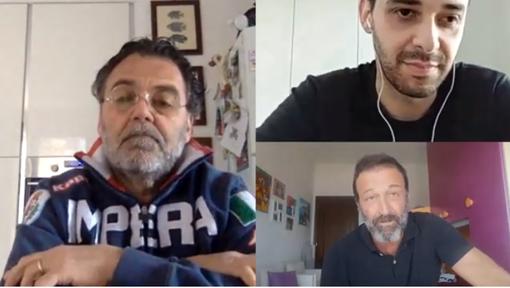 Ospiti del nostro quotidiano online in casa Imperia sono Eugenio Minasso e mister Alessandro Lupo