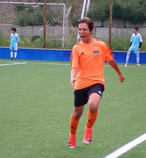 Calcio giovanile. Ospedaletti, il talento Matteo Vitan in prova al Genoa