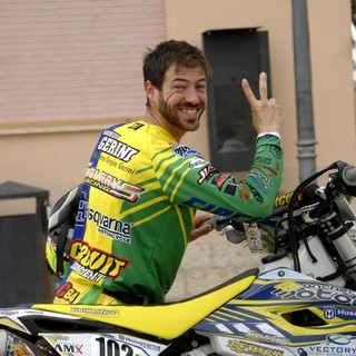 Il pilota imperiese di Chiusanico Maurizio Gerini: alla Dakar 2020 nelle moto chiude 20° nella classifica generale