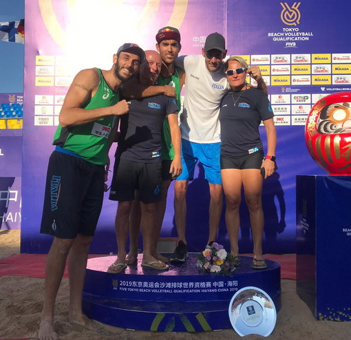 Beach Volley: il coach di Arma di Taggia Matteo Varnier tornerà alle Olimpiadi, a Tokyo con la coppia Lupo-Nicolai
