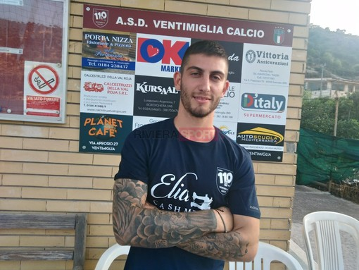 Michael Ventre, trascinatore del Ventimiglia: quattro reti alla Loanesi