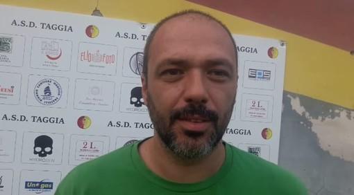 Christian Maiano, allenatore del Taggia