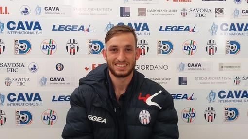 Mattia Monticone, difensore centrale nel mirino della Sanremese