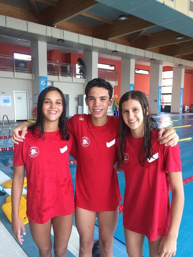 Sport acquatici. Sport Club Liguria, tre atleti realizzano ottimi risultati ai Campionati Regionali