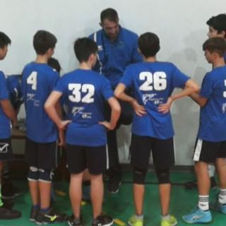 Volley, under 14 maschile. NLP Sanremo, altra vittoria dell'Impresa Edile AMG di coach Michele Minaglia