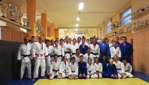 Judo. OK Club Imperia, gi allenamenti di agosto con Alessia e Andrea Regis