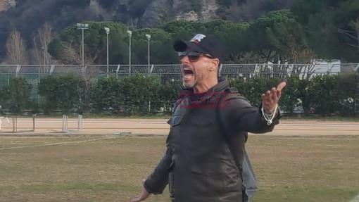 Giampiero Pesante, allenatore dell'Atletico Argentina
