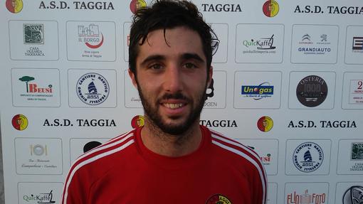 Paolo Tarantola, capitano del Taggia