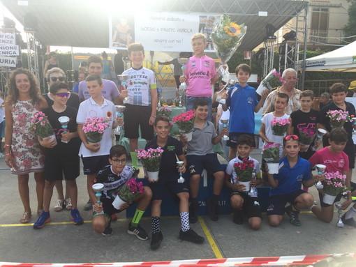 Ciclismo: ottimi risultati domenica scorsa ad Ortovero per gli atleti della Ciclistica ArmaTaggia
