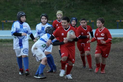 Rugby: domenica scorsa a Savona il raggruppamento delle squadre giovanili ponentine (Foto)