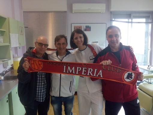 Calcio. Roma Club Imperia 'Francesco Totti': giornata alla FIDAS per soci e il Presidente Pino Stella (FOTO)