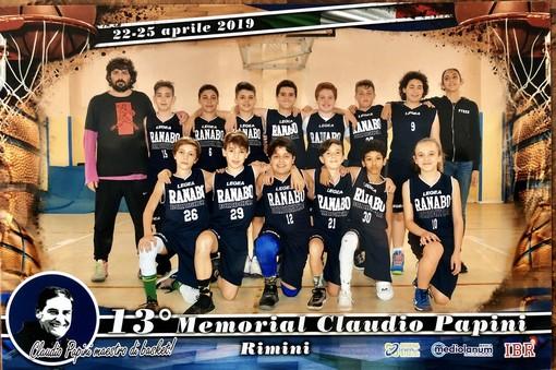 Basket. Gli Esordienti Ranabo compiono l'impresa: Campioni al Memorial Papini 2019