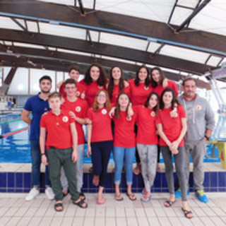 Nuoto: la Prima Squadra della Rari Nantes Imperia allo Swimto2020