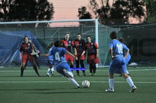 Calcio femminile. Sanremese, grande prova in Coppa Liguria: sette reti al Campomorone