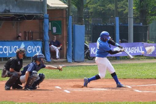 Baseball: bella vittoria in trasferta domenica scorsa per il Sanremo sul diamante dei Jacks Torino (Foto)