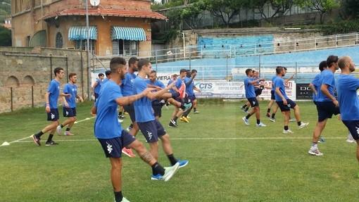 La Sanremese bagna il debutto interno in campionato affrontando la Folgore Caratese