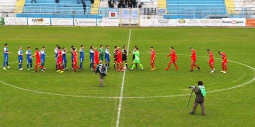 Sanremese vincente contro il Ligorna (foto Sanremese Calcio)
