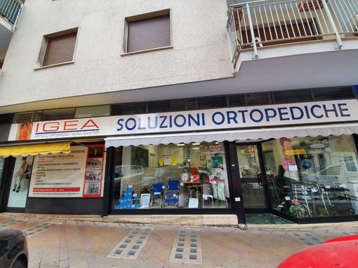 Sanremo: in via Pietro Agosti ha aperto Soluzioni Ortopediche Igea, un nuovo negozio di articoli ortopedicie non solo