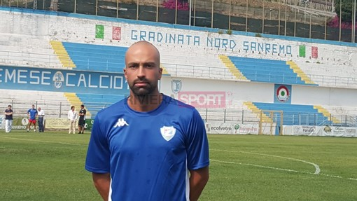Alessandro Manes, prima stagione con la maglia della Sanremese