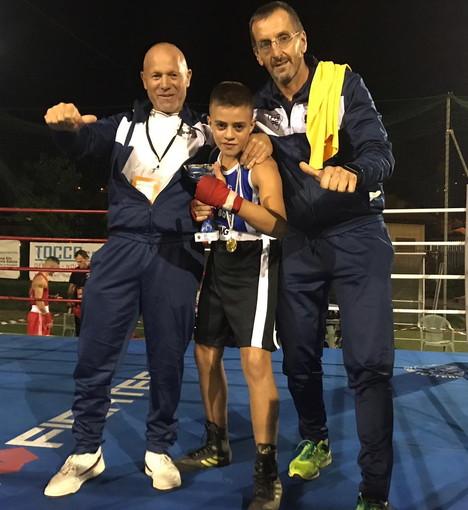 Pugilato: il giovane Thomas Fontò della 'Sanremo Boxe' conquista il passaggio agli 'Interregionali' (Foto)