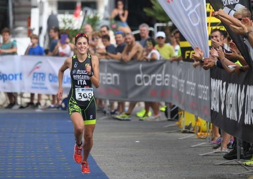 Vittoria Bergamini di San Bartolomeo al Mare è la vincitrice del Portosole Sanremo Olympic Triathlon (Foto)