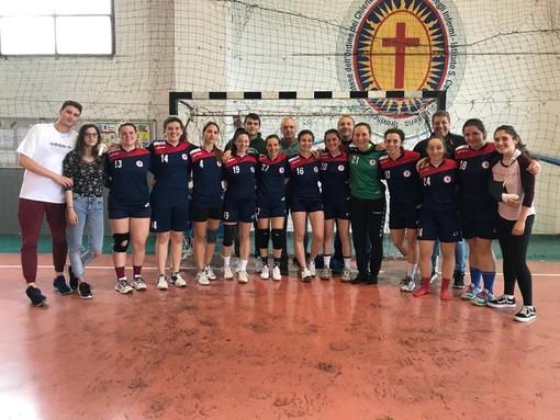 Pallamano. Team Schiavetti Imperia, nel campionato senior femminile vittoria importante