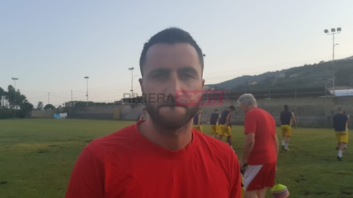 Simone Siciliano, allenatore del Taggia
