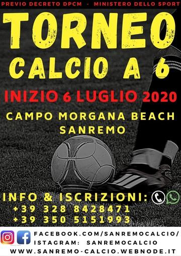 Calcio. L'ASD Sanremo organizza un torneo in programma il 6 luglio