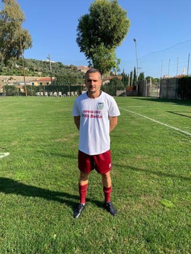 Turi Bella, attaccante dell'Oneglia Calcio