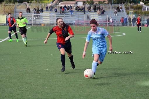 Michela Luccisano, attaccante dell'Alassio FC ma ex Unione Sanremo