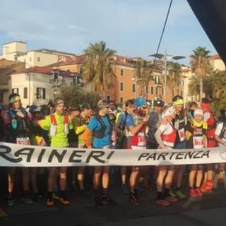 Imperia: è partita da calata Cuneo la terza edizione della Cmp Trail (foto e video)