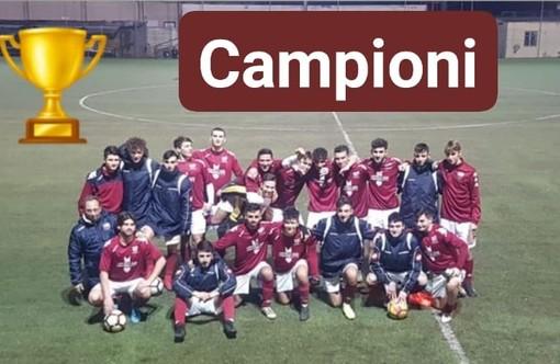 """Calcio giovanile. Il Ventimiglia vince il Girone A del campionato Juniores Regionale 2°Livello. Il condottiero Diego Bevilacqua: """"Una grande soddisfazione"""""""
