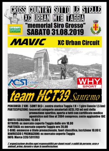 Mountain Bike. Grande gara in programma sabato sera a Taggia: il programma del 'Memorial Siro Grosso'