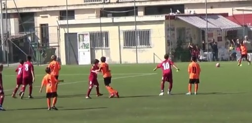 Calcio giovanile. Esordienti 2009 a 7: gli highlights di Ventimiglia-Ospedaletti (VIDEO)