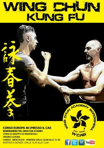 Arti marziali. Riprendono i corsi dopo il grande successo della scorsa stagione alla Wing-Chun Academy Bordighera