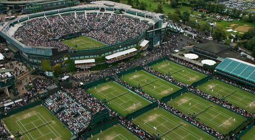 Una visuale del torneo di Wimbledon (foto tratta da il messaggero)