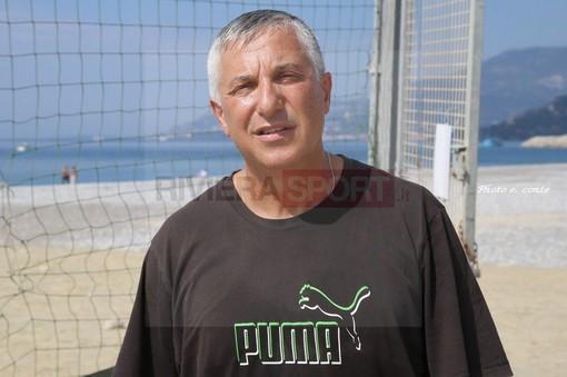 Pippo Malatino, coach della Pallamano Ventimiglia