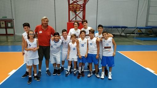 Il Sea Basket Sanremo under 13 di coach Mauro Bonino continua a vincere