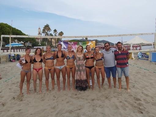 Beach Volley. La tappa Nazionale Serie B1 di Diano Marina ad Anna Dalmazzo-Eleonora Gili