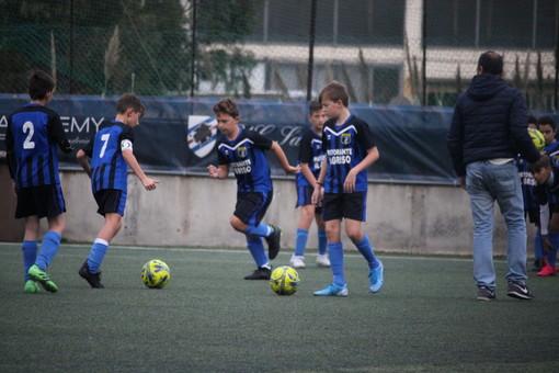 Calcio giovanile. Imperia, il talento  Francesco Karol Parrelli in prova con la U.C. Sampdoria
