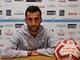 Pippo Scalzi, attaccante della Sanremese: tripletta al Ligorna e pallone portato a casa