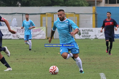 Marco Spinosa, match winner della Sanremese sul campo del Real Forte Querceta
