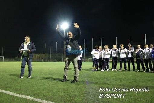 """Calcio, Seconda Categoria. L'Academy Albissola ferma sul pari la ex capolista Oneglia, mister Gasparlin: """"Prova magnifica della squadra, giusto atteggiamento per conquistare i playoff"""""""
