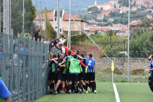 Calcio, Eccellenza. Tutta l'Imperia si gode il suo gioiello: Gilberto Pellegrino, che perla contro la Genova Calcio (VIDEO)