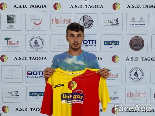 Luca Celotto, attaccante del Taggia