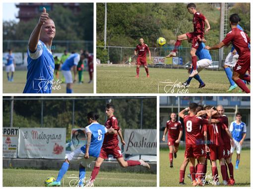 Calcio, Ceriale e Ventimiglia regalano uno spettacolare 3-3, la fotogallery di Giulia Intili