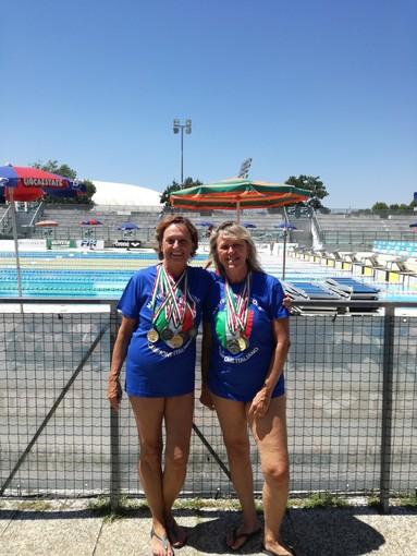 Nuoto. Ottimi risultati ai Campionati Italiani FIN Master per Janet Harmer, Daniela Gariglio e Roberto Bolesan