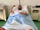 Fabio Fognini dopo l'operazione (foto Instagram)